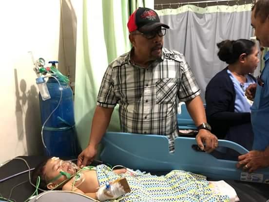 Gubernur Maluku Kunjungi warga Korban Gempa di RSUD Ambon