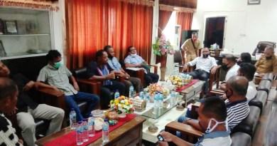 Keluarga pasien meninggal covid 19 Malra bertemu Ketua DPRD Malra