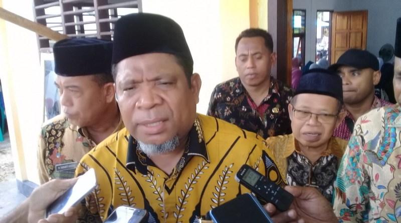 Walikota Tual Adam Rahayaan S.A.g
