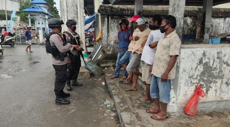 Patroli Dialogis Brimob Maluku di Kota Tual dan Maluku Tenggara