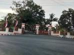 Pendopo Yarler yang ditempati Walikota Tual sebagai Rumah Dinas Walikota jadi kisruh persoalan kepemilikan aset Kota Tual dan Pemkab Malra