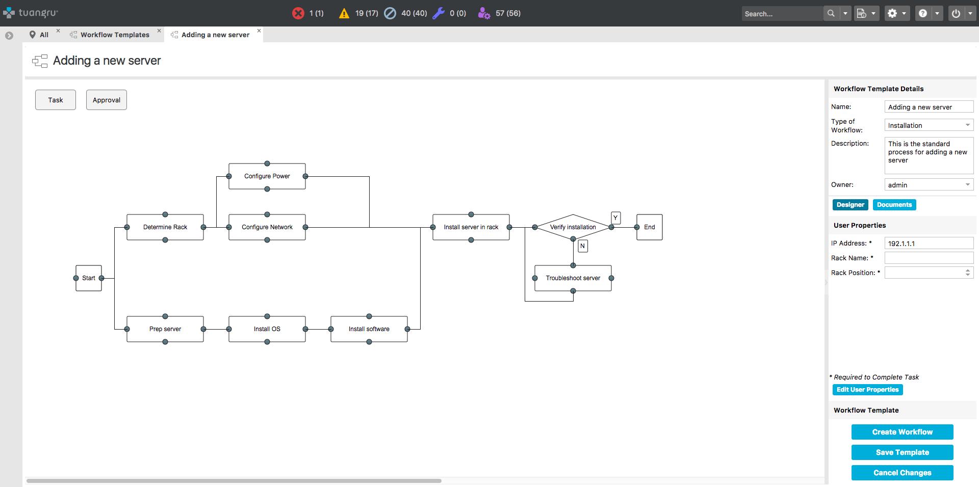 DCIM Workflows