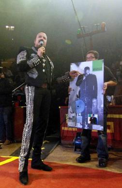 El álbum Pepe Aguilar MTV Unplugged fue certificado como DISCO DE PLATINO por más de 60 mil copias físicas vendidas en México