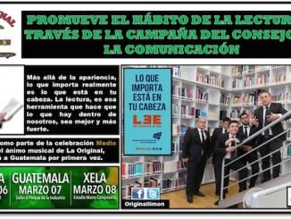 """La Original Banda El Limón forma parte de campaña del Consejo de la comunicación, se llama """"Lo que importa está en tu cabeza"""" y busca fomentar el habito de la lectura"""