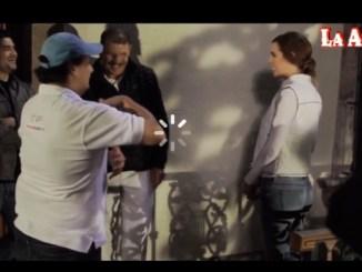 """Escenas del video """"Confesión"""" con la Arrolladora"""