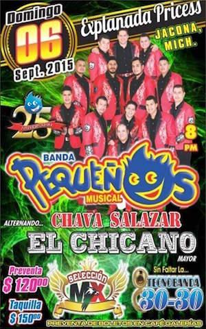 Pequeños Musical en Jacona Michoacan