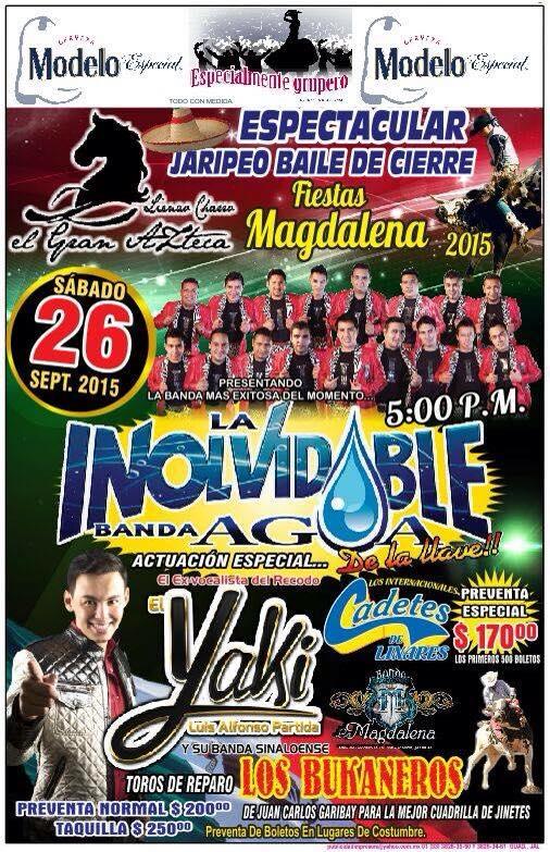 La inolvidable en Magdalena Jalisco