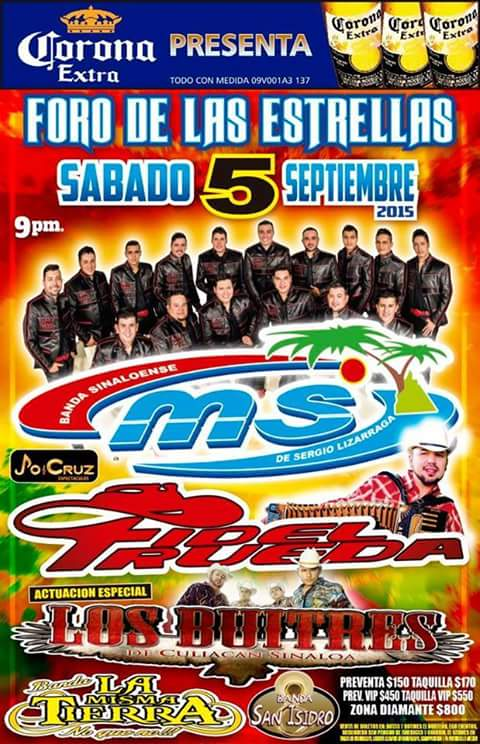 Banda MS en Aguascalientes