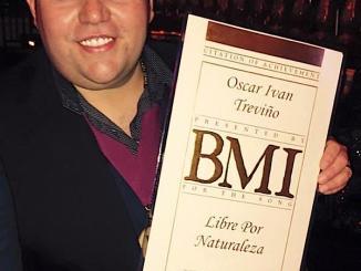Oscar Iván Treviño - Premios BMI