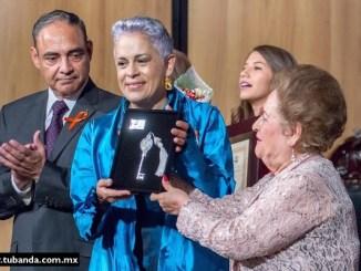 Eugenia León recibió las llaves de la Ciudad de Oaxaca