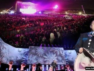 Pepe Aguilar en concierto de Bosé y Homenaje a Juan Gabriel