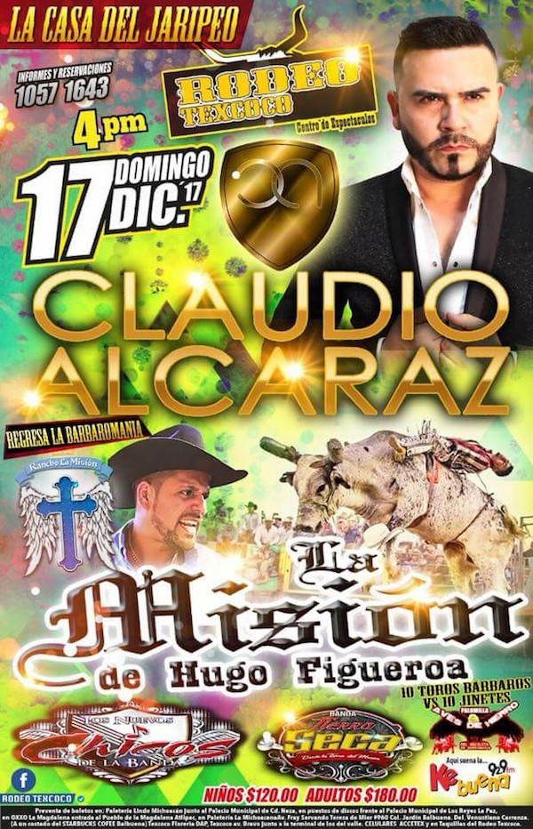 Rodeo Texcoco 17 dic 2017