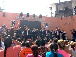 La Adictiva en el penal de Topo Chico Monterrey