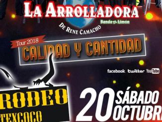 La Arrolladora en Rodeo Texcoco