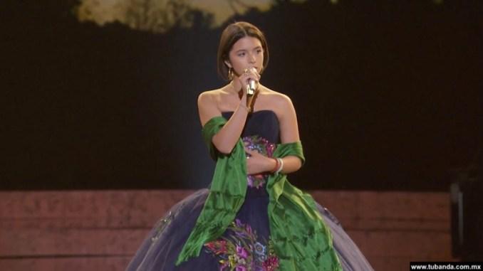 Ángela Aguilar participa en Los Grammys representando a México
