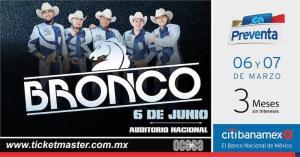 Grupo Bronco en el Auditorio Nacional 2019