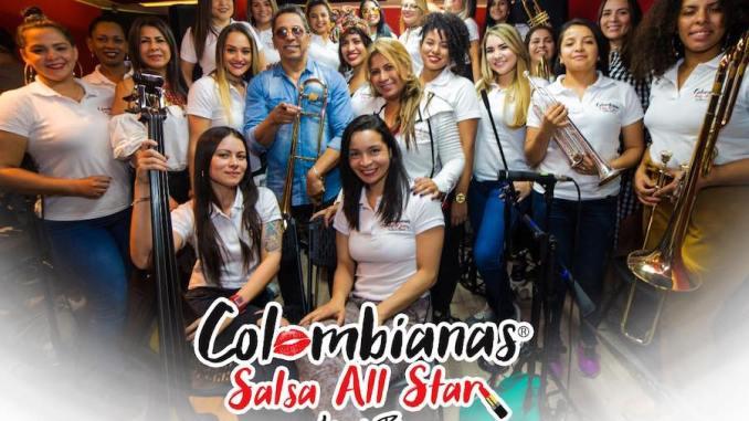"""Alberto Barros inicia el año estrenando """"Bonita y mentirosa"""" y además presenta la nueva orquesta """"Colombianas Salsa All Star"""""""