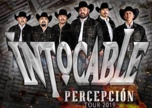28 de septiembre en laArena Ciudad de Mexico llega... Grupo INTOCABLE. Percepción Tour 2019.