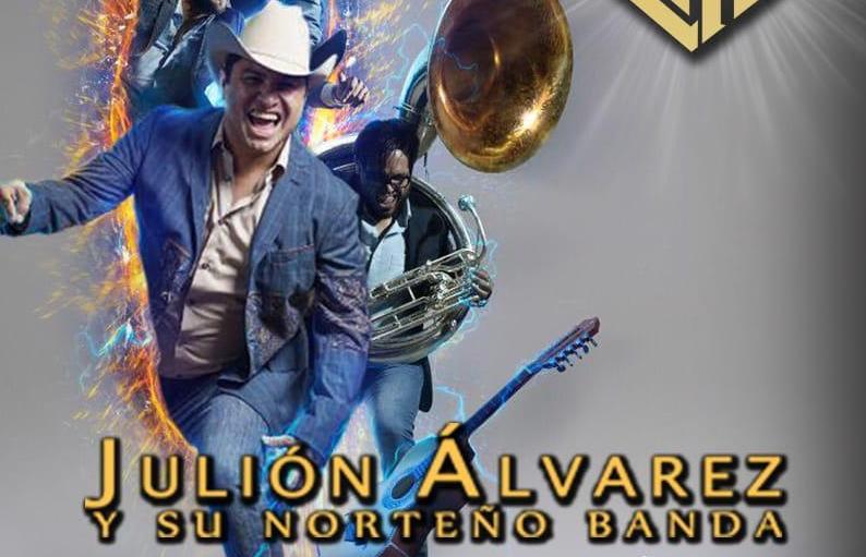 Julión Álvarez regresará al Auditorio Telmex en Agosto 2019