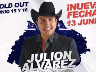 JJulión Álvarez abre una tercera fecha para el Domo Care durante la Expo Feria Guadalupe 2019.