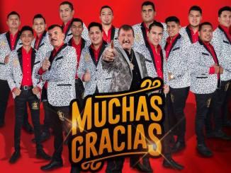 """Banda Estrellas de Sinaloa presenta """"Muchas Gracias"""" y Don Germán Lizárraga es homenajeado."""