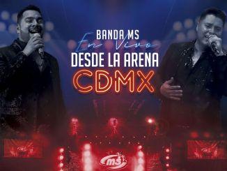 """La Banda MS presenta su disco """"En vivo desde la Arena CDMX"""""""