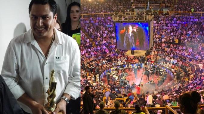 A pesar de sus problemas legales Julión Álvarez se encuentra en los primeros lugares de popularidad y de taquilla.