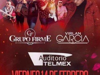 Grupo Firme y Virlán García en Auditorio Telmex