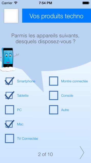Survey mode - CheckMe