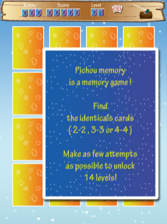 Screenshot 3 - pitchou Memory