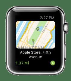 Screenshot Apple Watch - Explorer GPS Tubaous