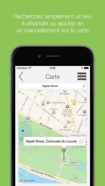 Screenshot 2 - Explorer GPS