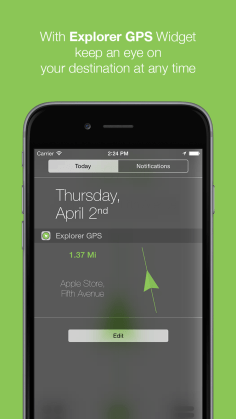Screenshot 4 - Explorer GPS