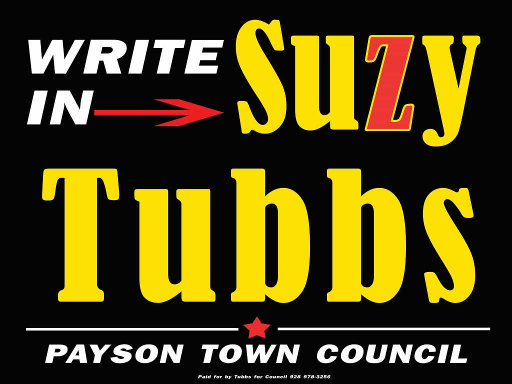 Tubbs for Council