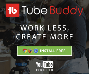 Tubebuddy advert