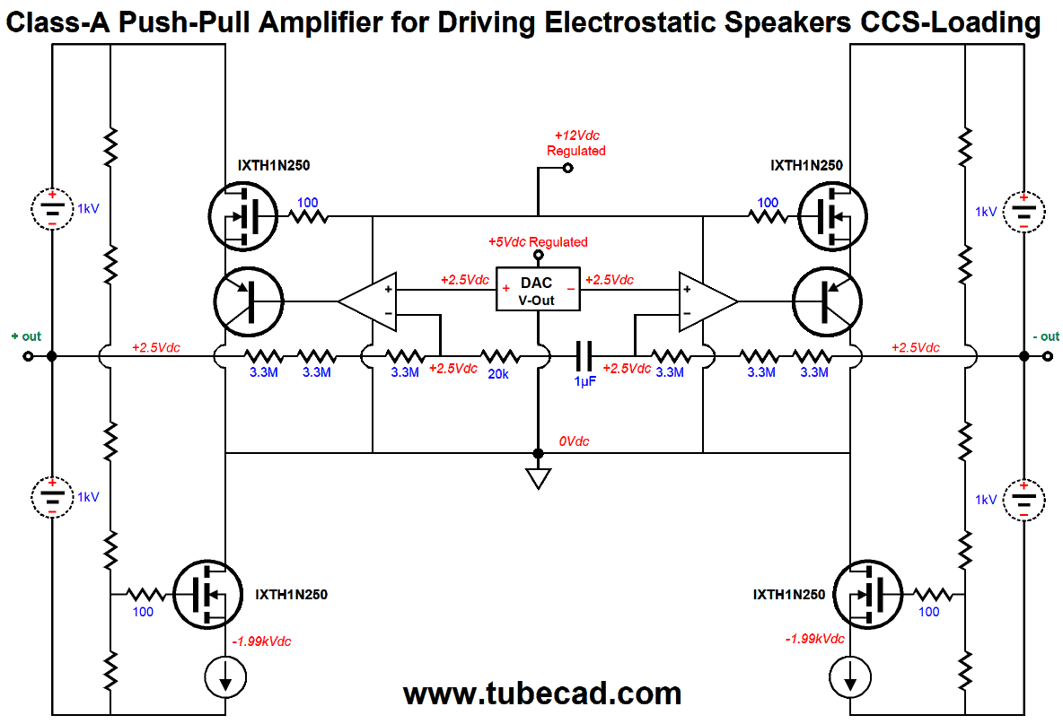 Digital Electrostatic Loudspeakers Amp More Direct Drive