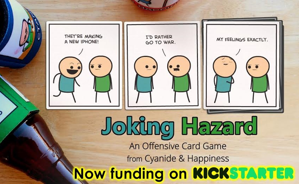 Cyanide Amp Happiness Raises 100000 And Counting For New