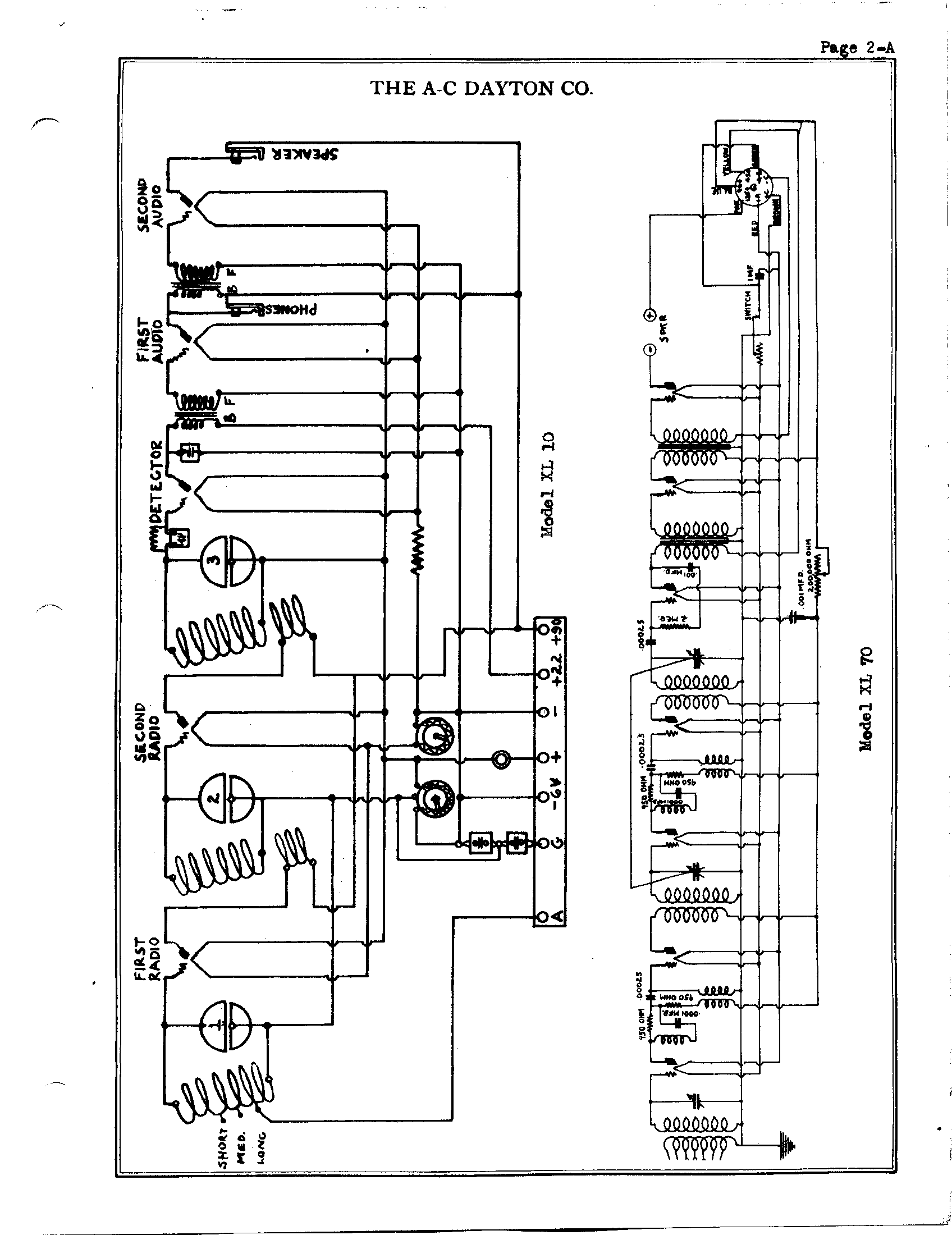 A C Dayton Company Xl10