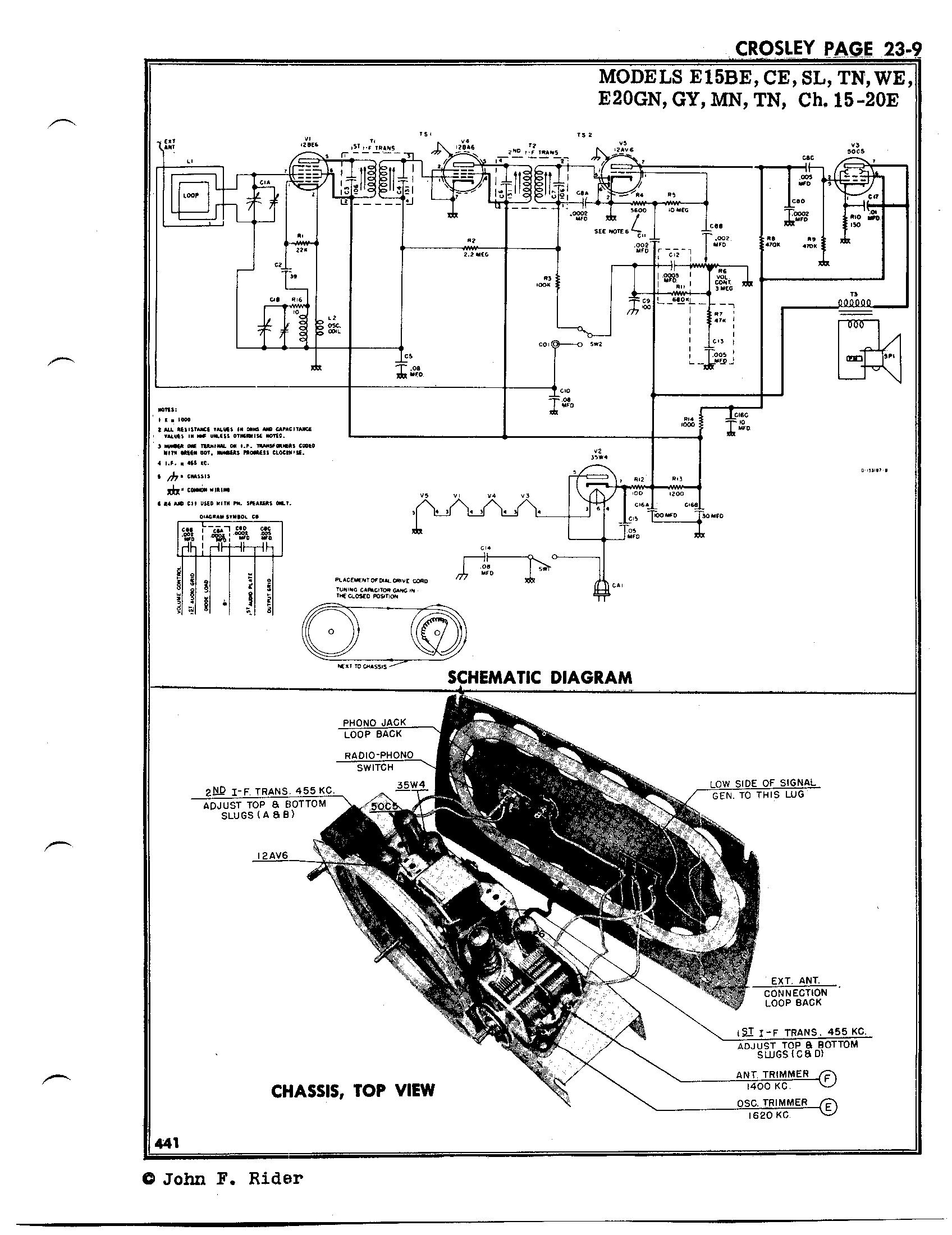 Crosley Corp E15be