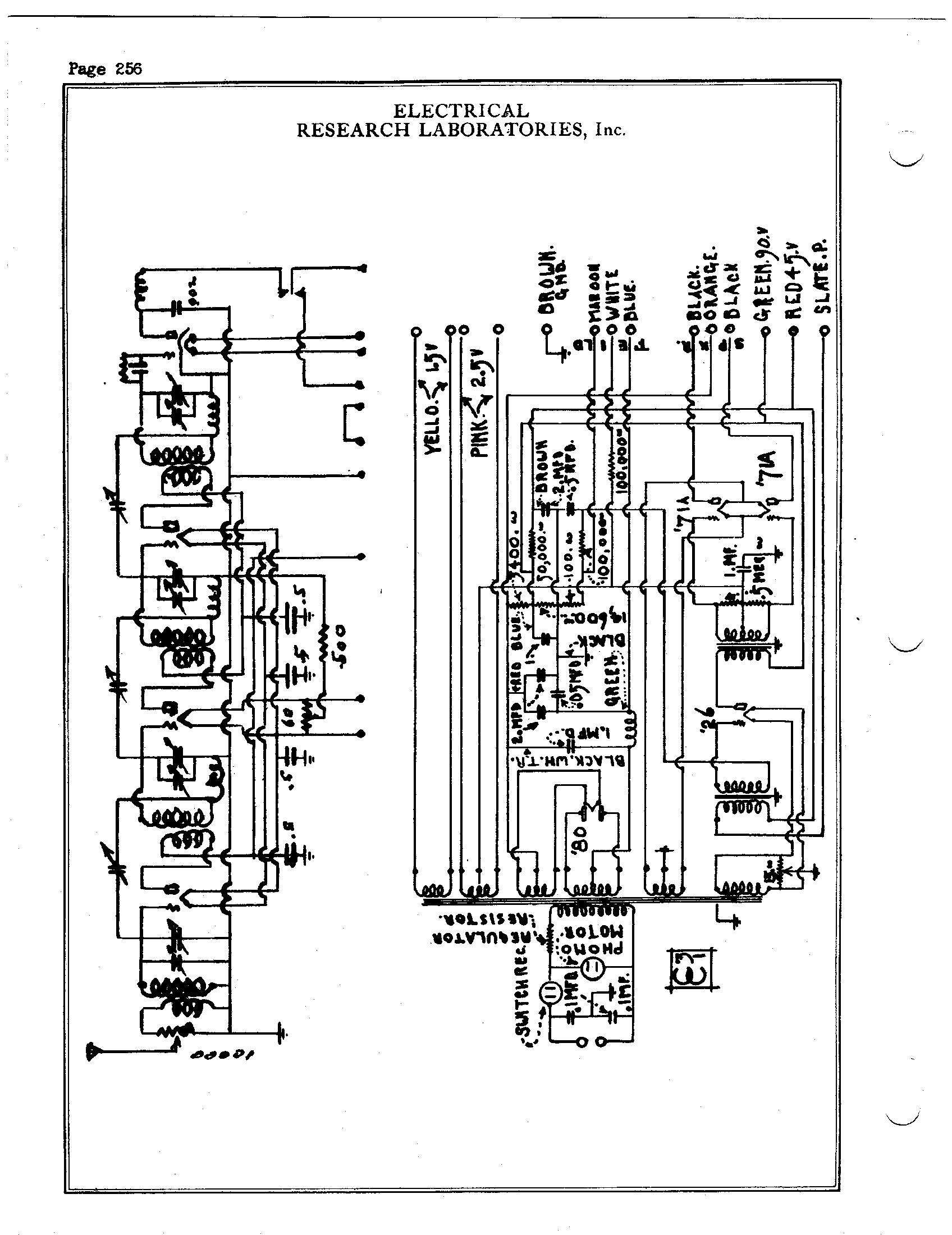 Electrical Research Lab Erla 224 A C