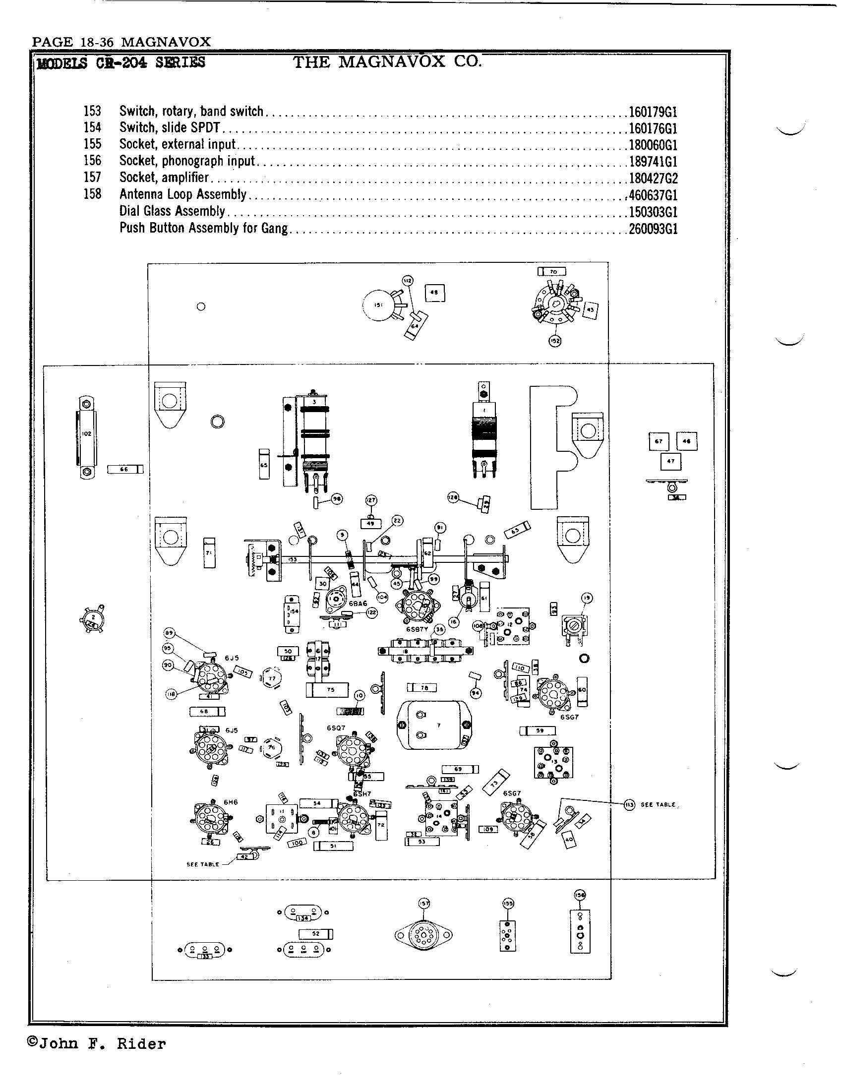 Magnavox Co Cr 204