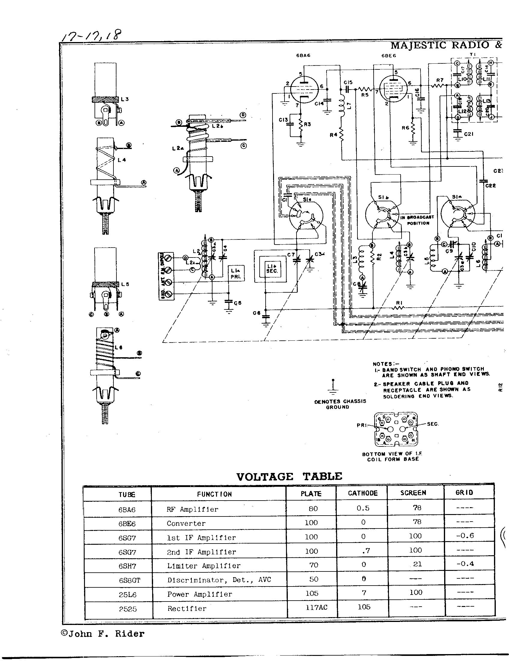 Majestic Radio Amp Telev Corp 8fm776
