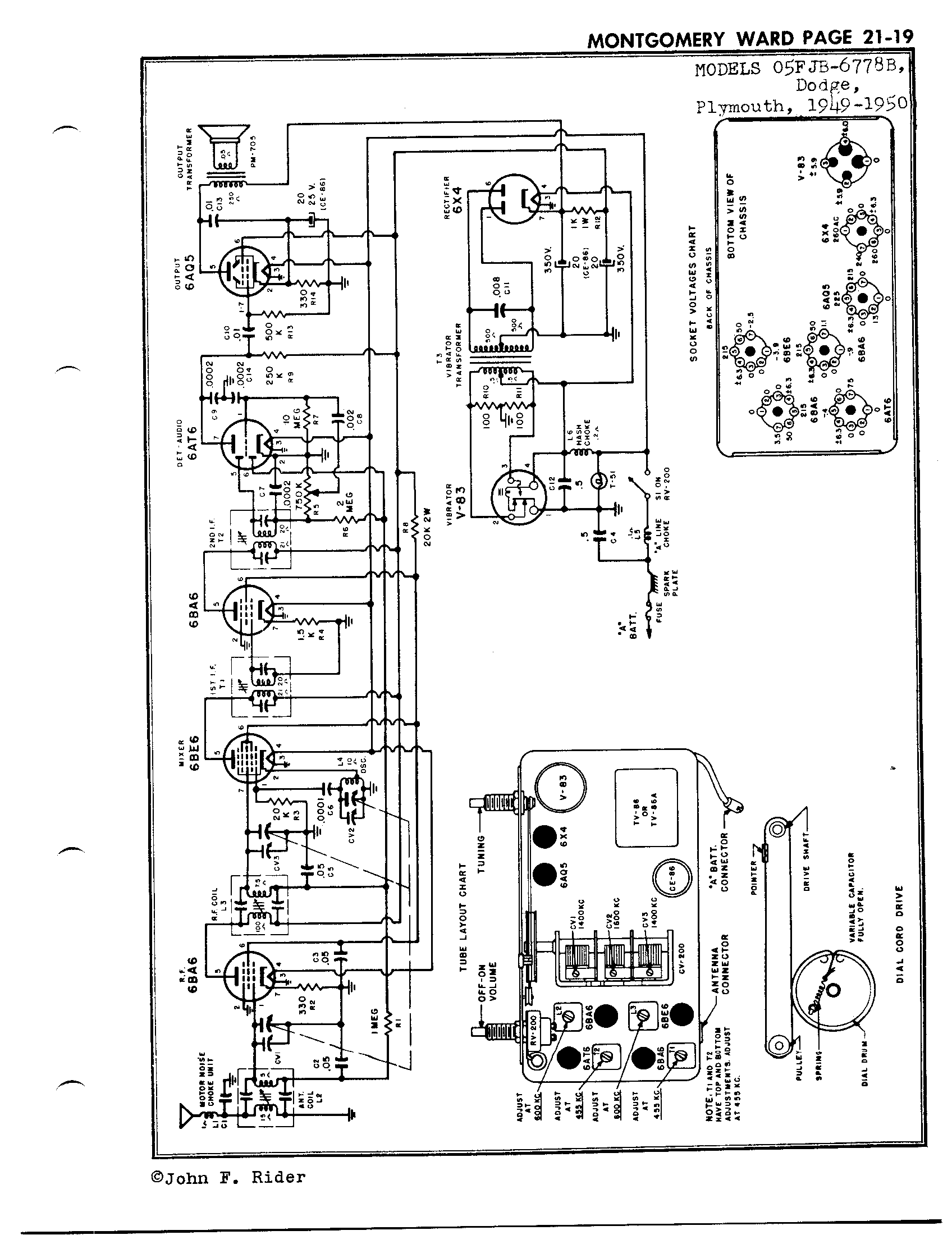 Carbureted Engine Wiring