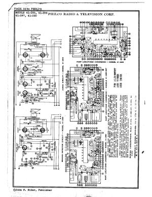 Philco Radio & Television Corp 41290 | Antique Electronic Supply