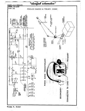 Philco Radio & Television Corp 461209 (121)   Antique