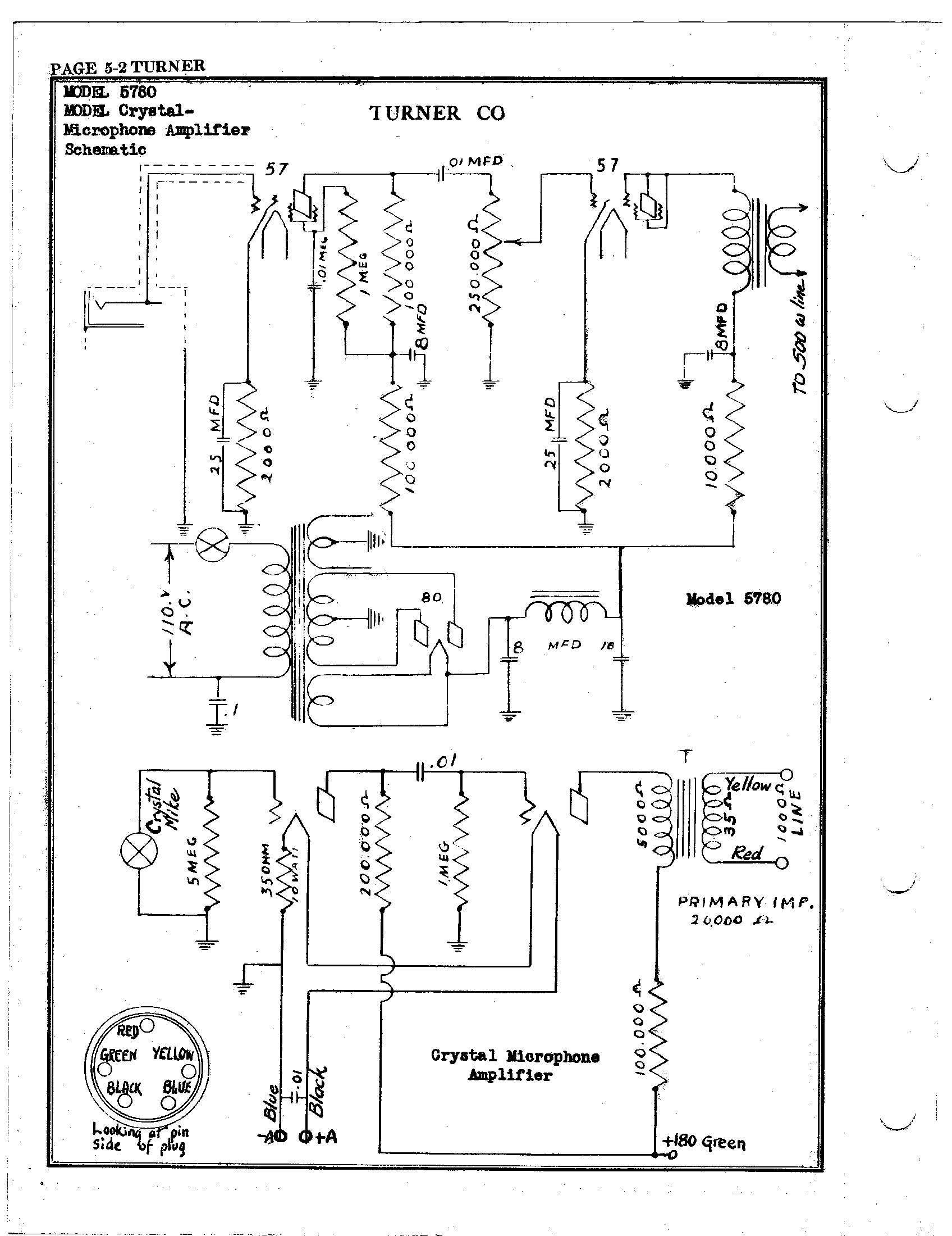 3 Pin Microphone Wiring Diagrams