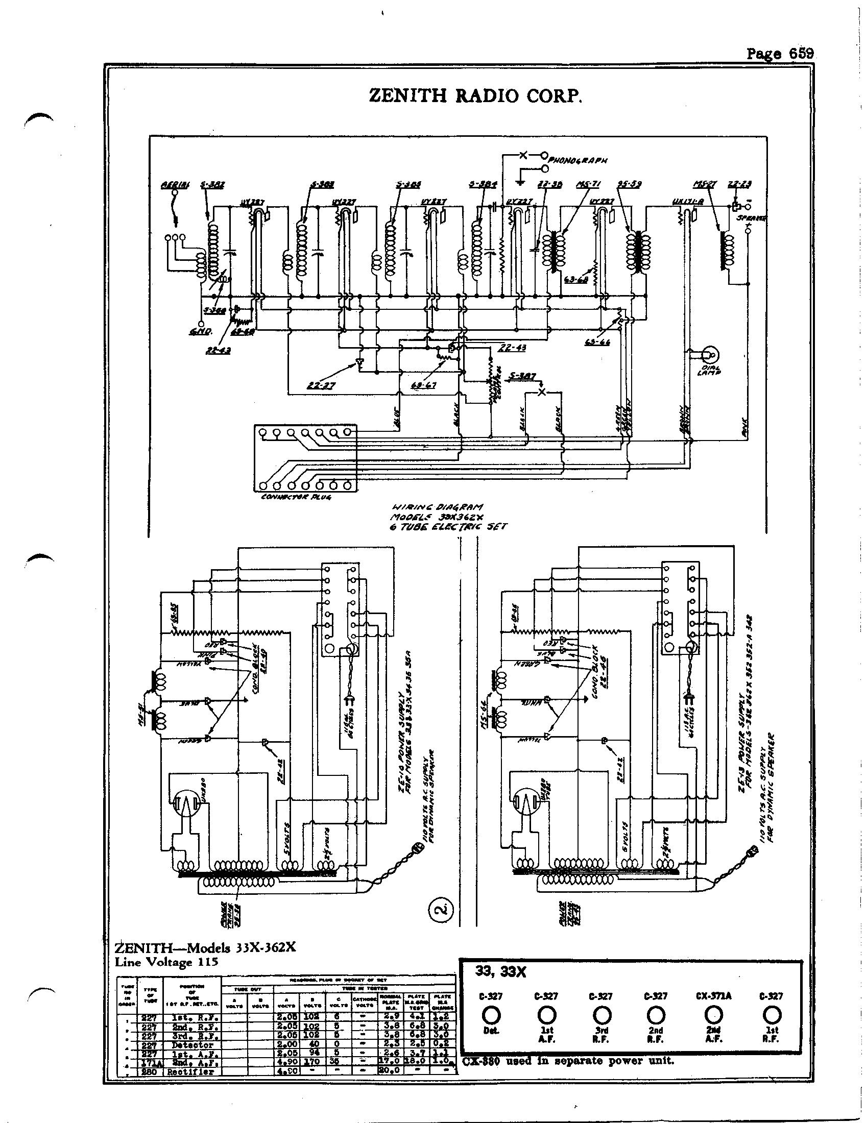 Zenith Radio Corp 342