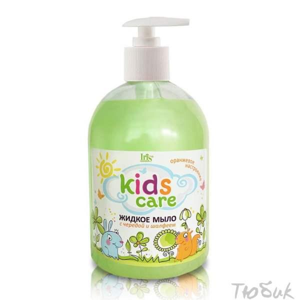 Детское мыло череда шалфей Iris
