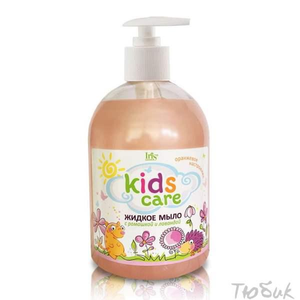 Детское мыло ромашка лаванда Iris