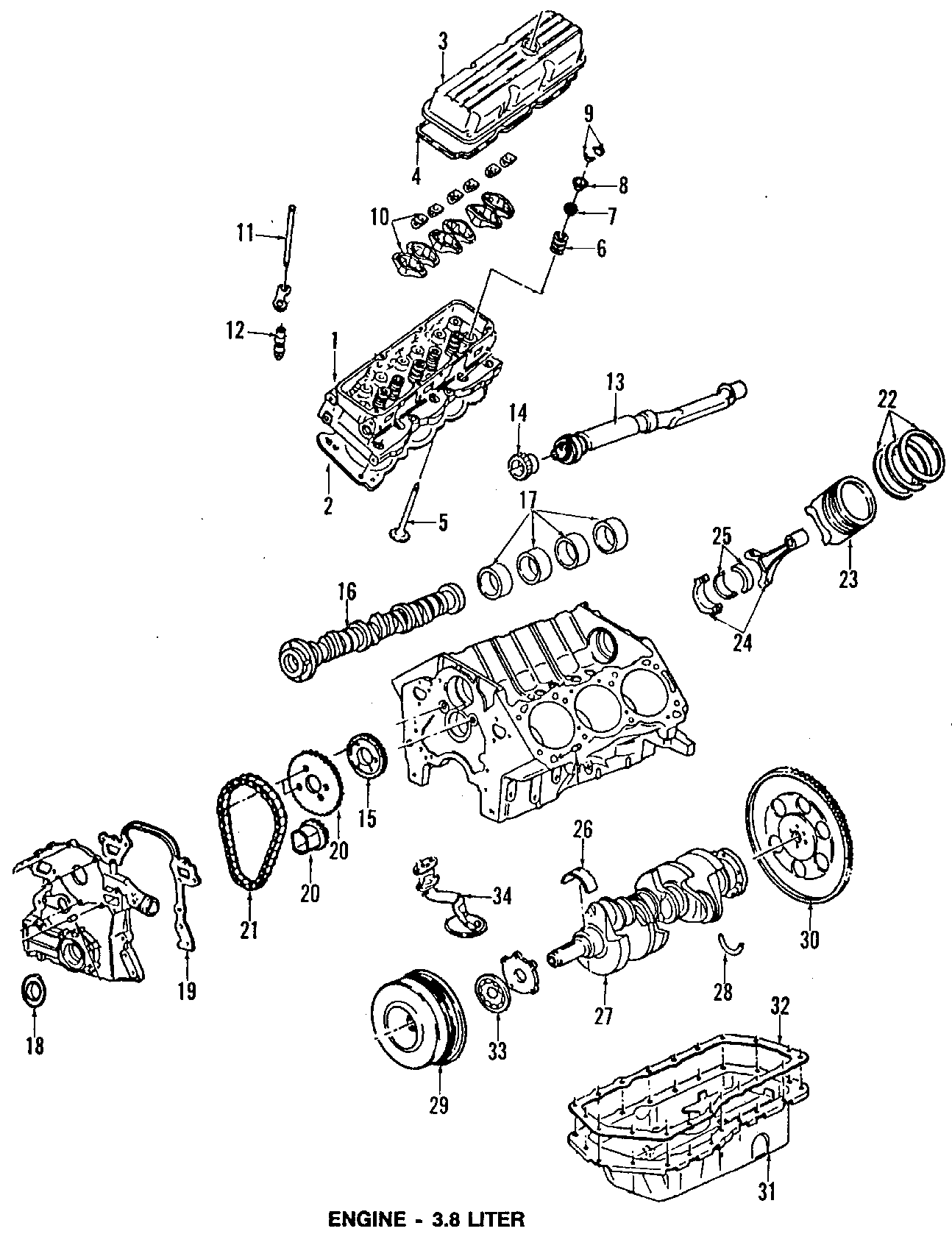 Pontiac Bonneville Mount Strut Transmission Rear